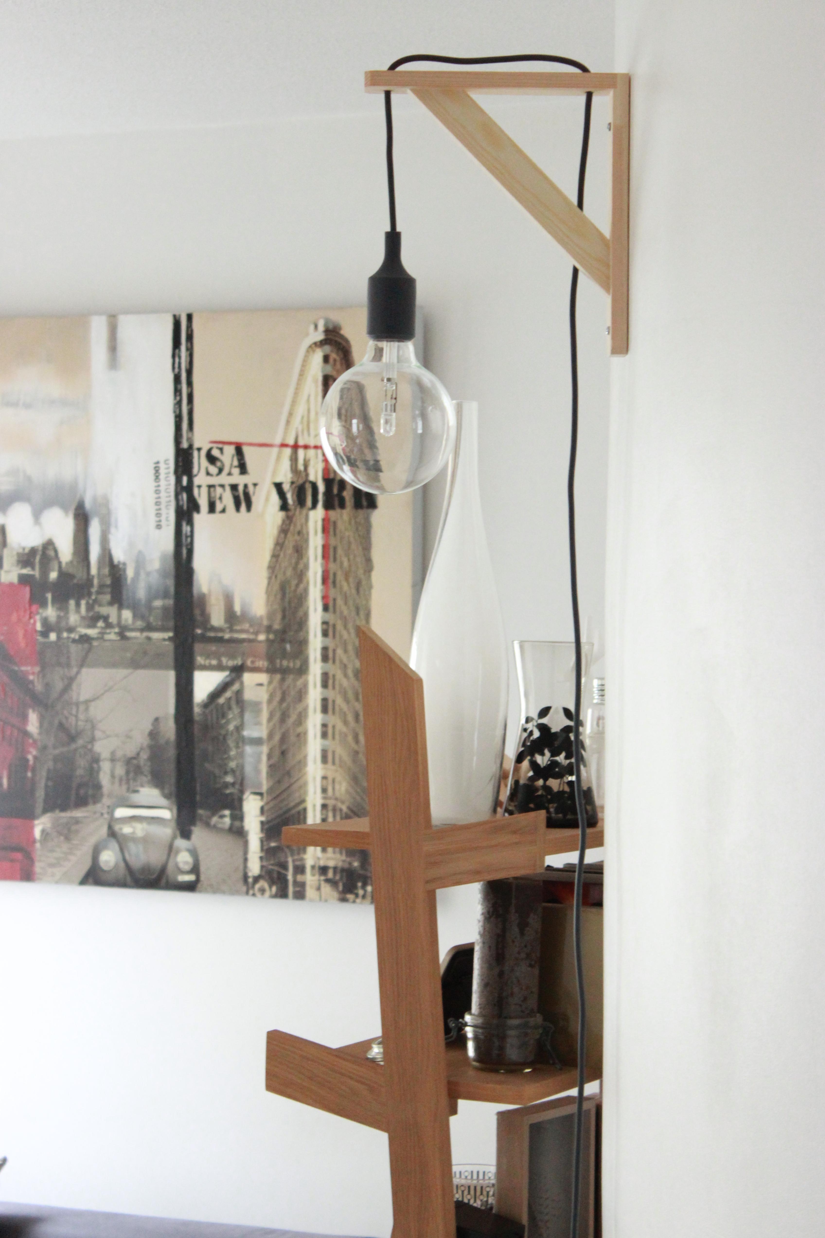 lampadaire diy. Black Bedroom Furniture Sets. Home Design Ideas