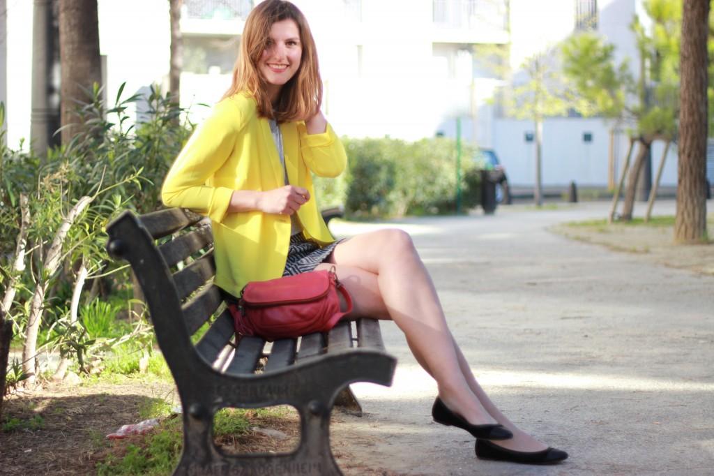 porter une veste jaune