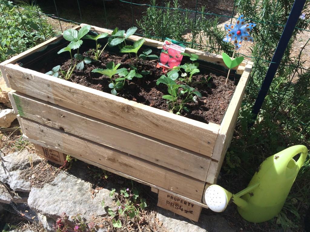 Construire sa jardinière en palettes