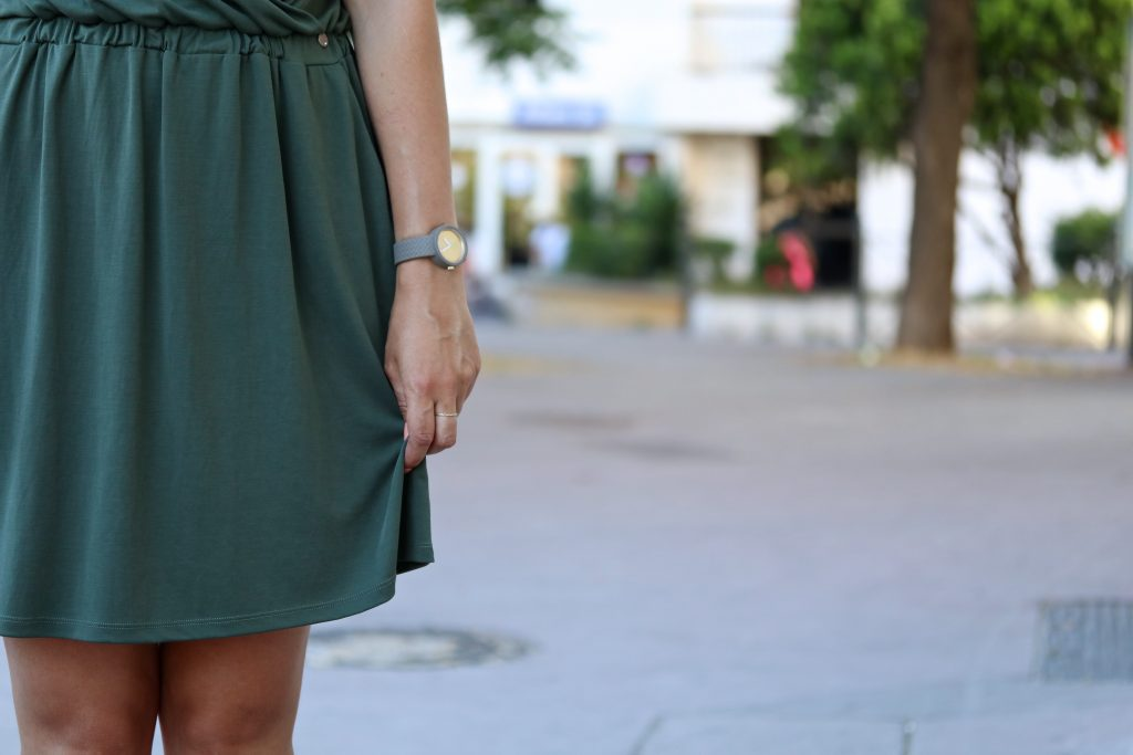 Petite robe kaki