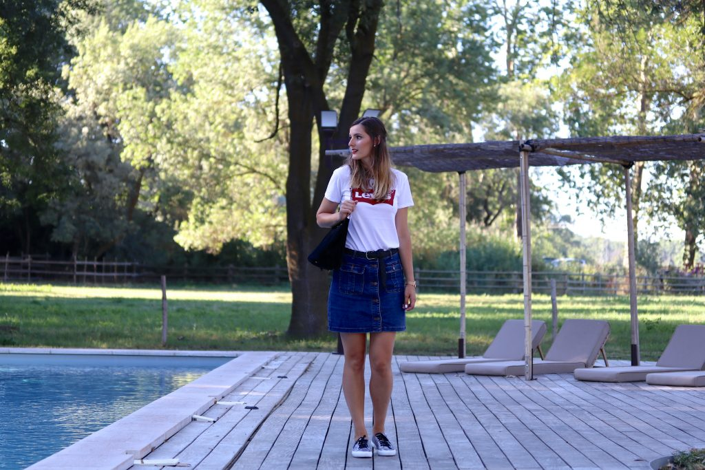 look t-shirt Levis