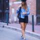 Le dernier look sans collants + sélection de chemises en jean
